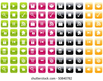 Colourfull Icons set