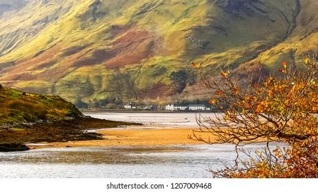 colourfull landscape in Connemara