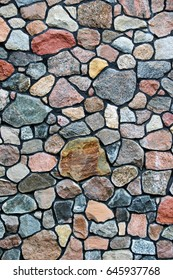 Colourfull Stone Wall Texture