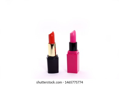 colourpop matte lipstick on white background , low quality and low price cosmetic for makeup