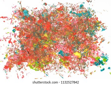 colroful abstract acrylic background