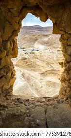 Columbarium Tower, Masada, Judean Desert, Israel