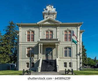 The Columbia County Courthouse in Dayton, Washington