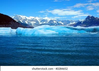 Columbia Glacier, Prince William  Sound, Alaska, America
