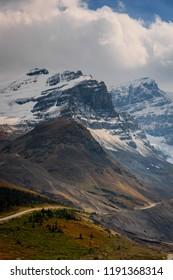 Columbia Icefield in Jasper National Park, Alberta, Canada