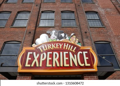 COLUMBIA, PA - OCT 9: Turkey Hill Experience in Columbia, PA, on Oct 9, 2016. The 17,000-sq-ft attraction opened in 2011 and pays homage to its history while highlighting its ice-cream and iced-tea.