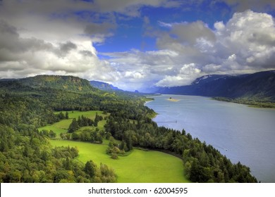 Columbia River Gorge capture from the cape on the Washington side of the gorge