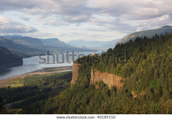 The Columbia River Gorge OR.