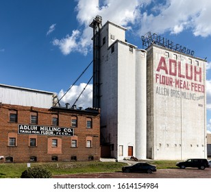 COLUMBIA, SC, USA-7 JANUARY 2010: The Adluh Milling Company began in 1914.  It also operates as Allen Brother Milling Company.