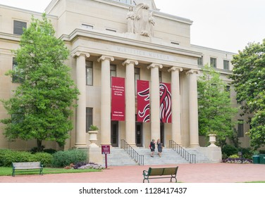 COLUMBIA, SC/USA JUNE 5, 2018: McKissick Museum on the campus of the University of South Carolina.