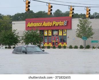 Columbia South Carolina Flood 2015 October
