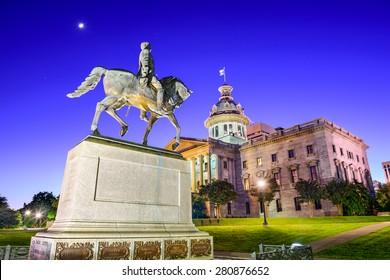 Columbia, South Carolina, USA at the State House.