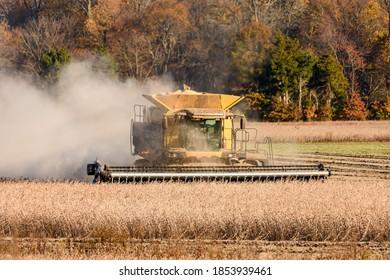 Columbus, New Jersey 11-08-2020 Last harvest of the season