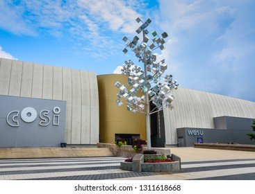 Columbus, OH / USA - 06-27-2014: CCOSI (an acronym for Center of Science and Industry) is a science museum and research center located in Columbus, Ohio in the United States.