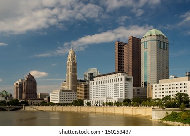 Columbus Ohio in the afternoon