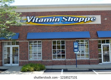 Columbus, Ohio - July 24,2017: The Vitamin Shoppe has over 659 stores in 44 states.