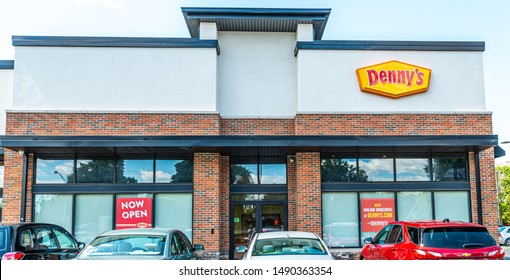 Columbus, Ohio / USA - August 28 2019: Denny's Restaurant