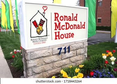 Columbus, Ohio-USA April 28, 2020 Ronald McDonald House is committed to providing comfort, care and support to children and their families during their most difficult times.