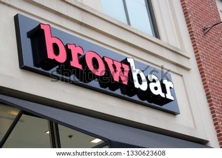 Columbus Ohio February 282019 Brow Bar Specializes Stock