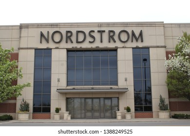 Columbus,Ohio/USA April 24, 2019: Nordstrom Inc. is an American chain of luxury department stores, also operating in Canada and headquartered in Seattle, Washington.