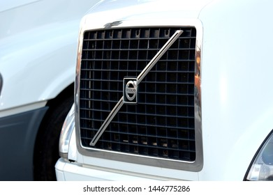 Volvo Truck On Road Images Stock Photos Vectors