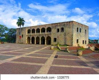 Columbus's Palace in Santo Domingo