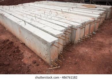 column of concrete beam