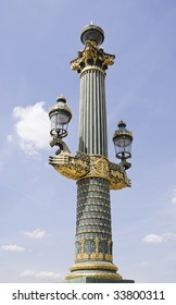 column at Place de Concorde, Paris