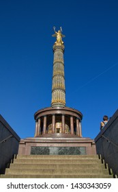 column of victory in berlin golden elsa