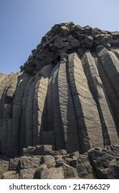 Columnar Basalt ,penghu,taiwan