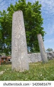 Columns at Aizonai, Anatolia, Turkey.