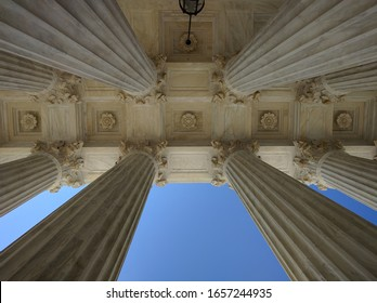Columns, Supreme Court of the United States, Washington DC - March 2016