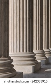 Columns at the Supreme Court of the United States