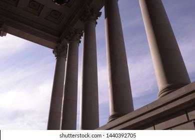 Columns At Washington State Capitol
