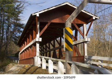 Colvin Covered Bridge - built 1880 - Bedford County, PA