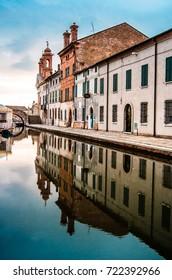 Comacchio, Italy, Piccola Venezia