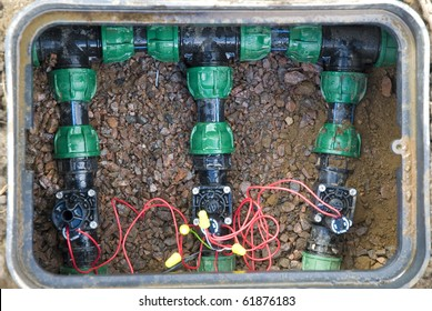 comb solenoid valves of automatic irrigation