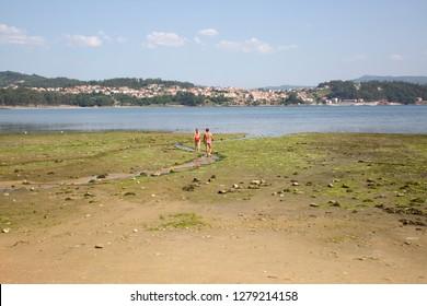 Combarro Beach, Galicia, Spain