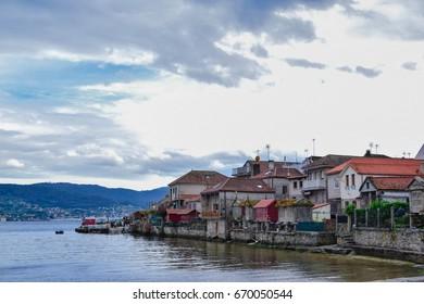 Combarro, small and beautiful fishing village of Galicia, Spain