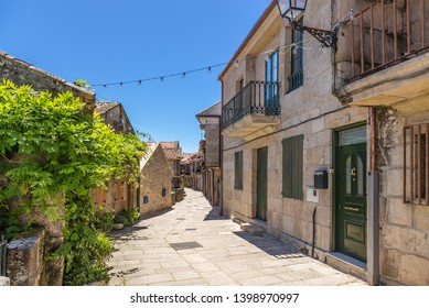 COMBARRO, SPAIN - JUN 15, 2017: Street of the old city