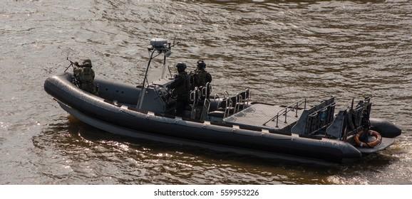 Combat Boat of Polish army