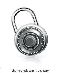 Combination lock, bitmap copy