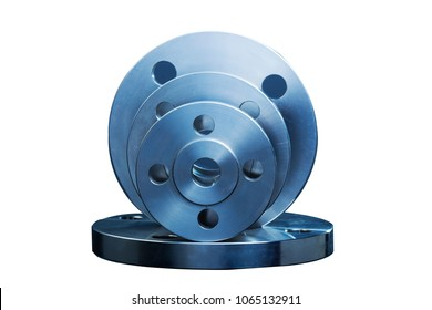 Combination of metal flanges, numbers are specifications of the flange