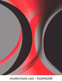 The combination of red and black color design for backgrounds