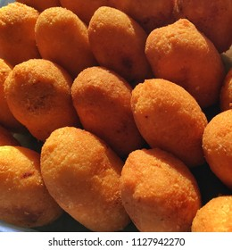 Combro Cake, Oncom Inside Gratted Cassava