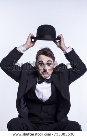 Comedian mime Actor with