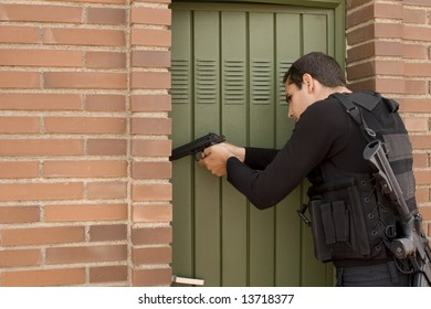 come-in, armed