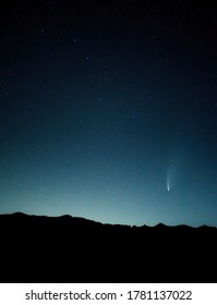 Comet Neowise and the Big Dipper