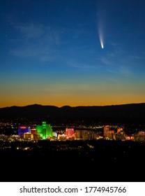 Comet NEOWISE Over Reno Nevada