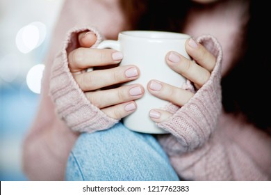 Comfort Concept - Hot Drink on a Cold Weather